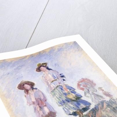 Promenade, 1886 by Claude Monet