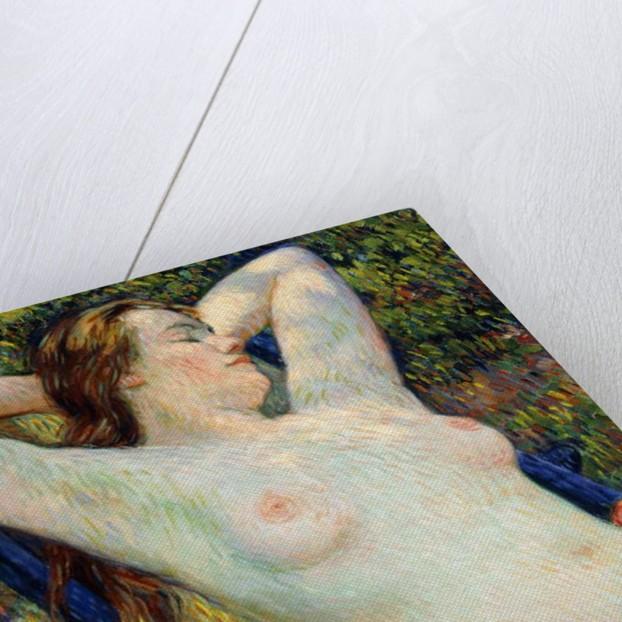 The model's siesta, 1920 by Theo van Rysselberghe