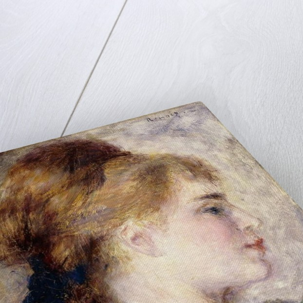 Portrait of Nina Lopez, 1876 by Pierre Auguste Renoir