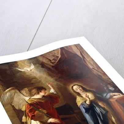 The Annunciation by Gaspar de Crayer