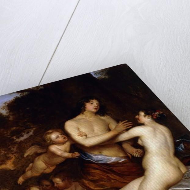 Venus and Adonis by Jan Mytens