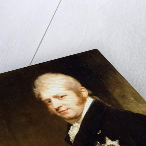 Portrait of Prince Adolphus Frederick, Duke of Cambridge by William Beechey