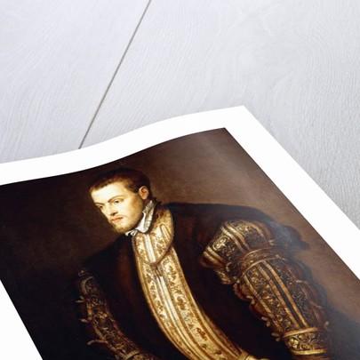 Portrait of King Philip II of Spain by Titian