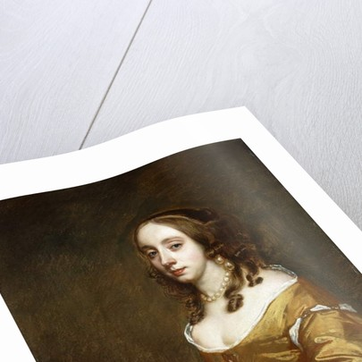 Portrait of a Lady of the Popham Family by Peter Lely
