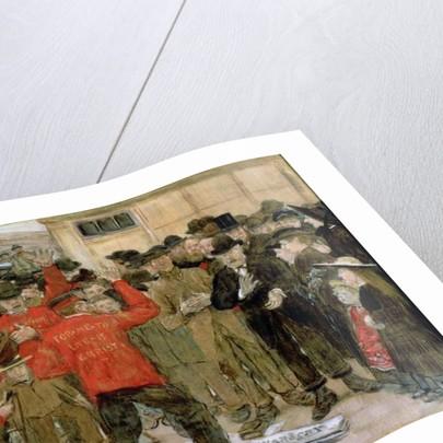 The Salvation Army by Jean Francois Raffaelli