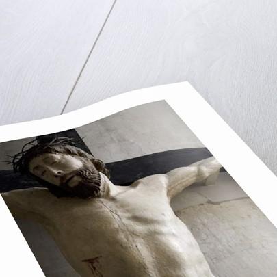 Christ on the Cross, detail by Ligier Richier