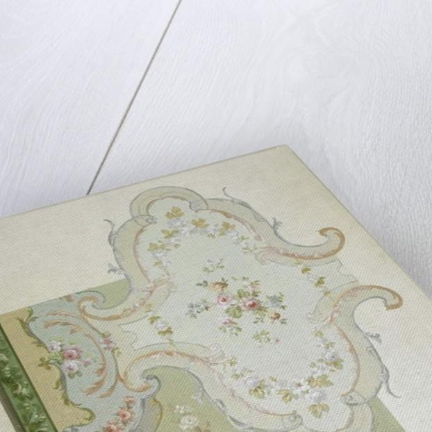 Carpet design by English School