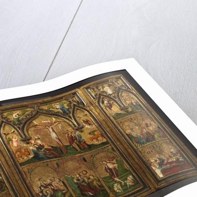 Crucifixion triptych, c.1374 by German School