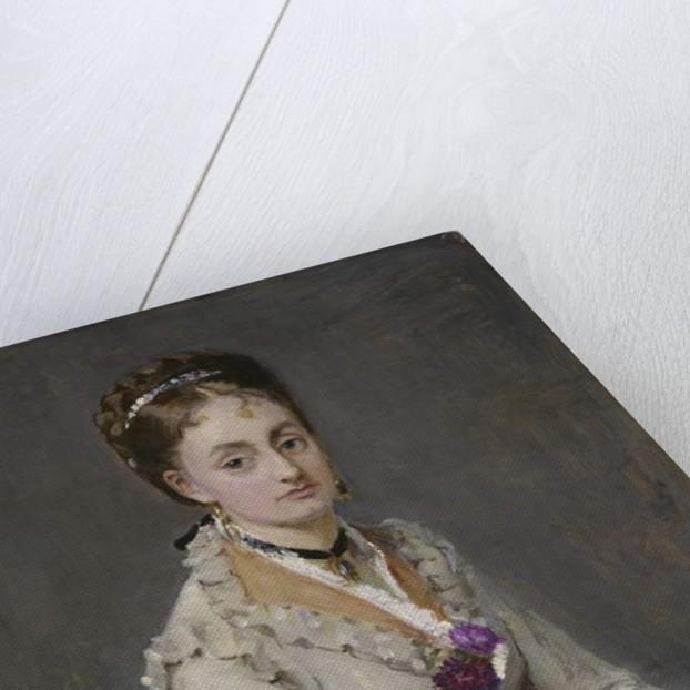 Portrait of a Woman, 1872-75 by Berthe Morisot