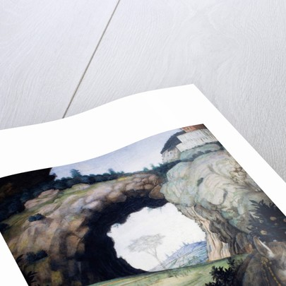 Landscape by Andrea Mantegna