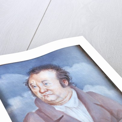 Portrait of Jean Paul, 1815 by German School