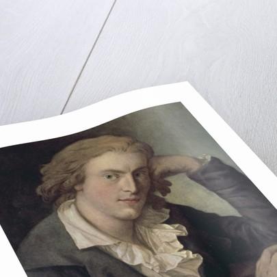 Friedrich Schiller, 1786 by German School