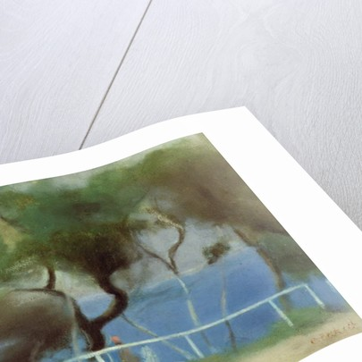 The Blue Sea, Beaumaris by Clarice Beckett