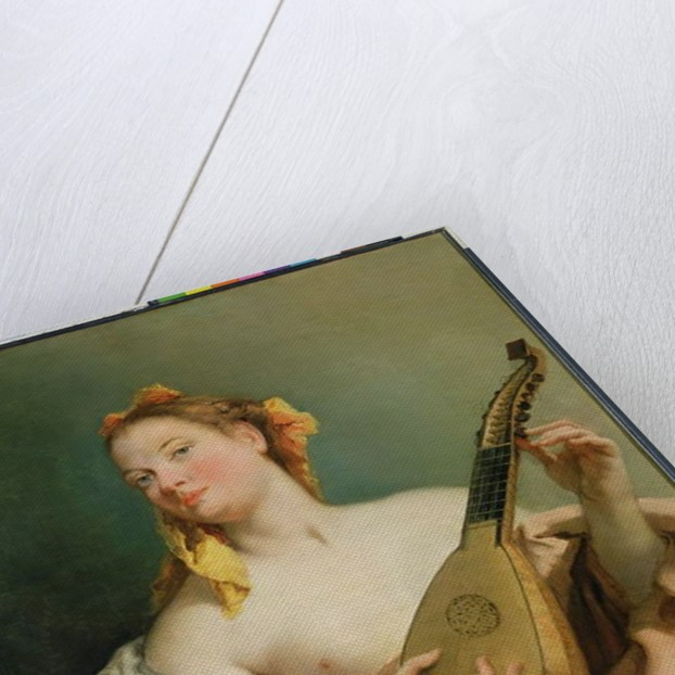 Girl with a Mandolin, 1755-60 by Giovanni Battista Tiepolo