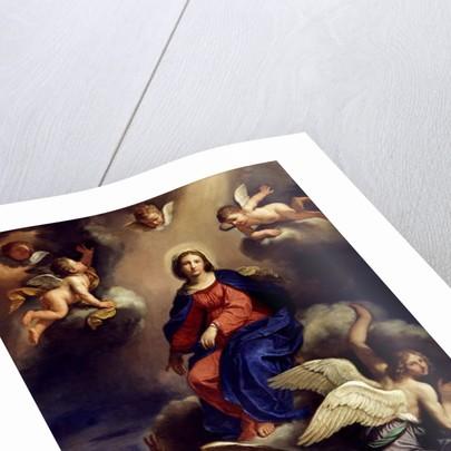 Assumption of the Virgin, 1650 by Guercino (1591-1666)
