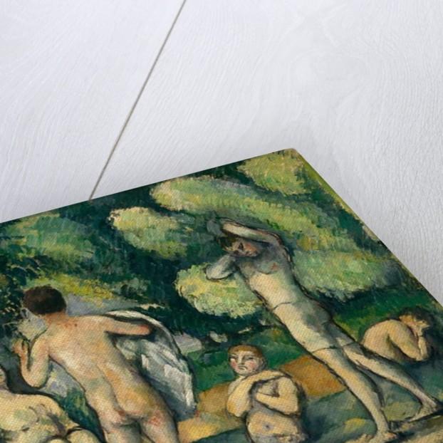 Bathers, c.1880 by Paul Cezanne