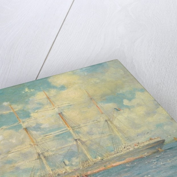 A French Barque in Falmouth Bay, 1902 by Henry Scott Tuke