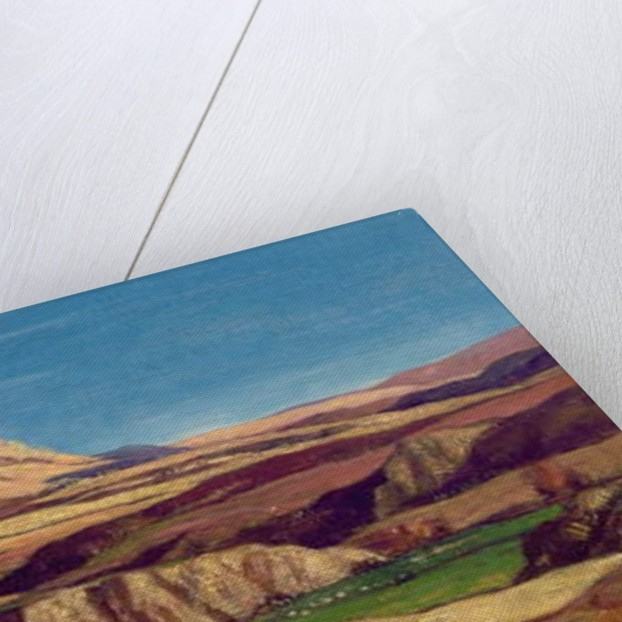 The Uplands of Lorne by David Young Cameron