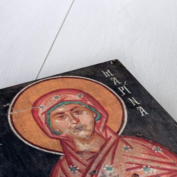 Saint Marina Wall painting by Anonymous