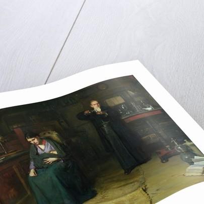 Doubtful Hope, 1875 by Frank Holl