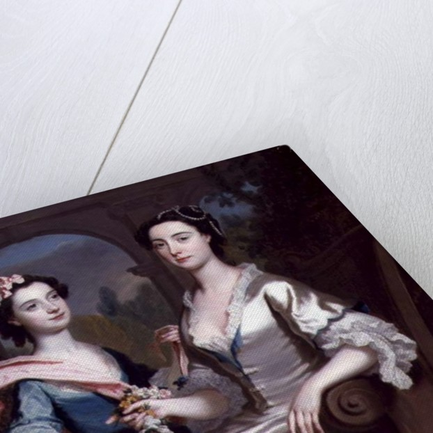 Mrs Elizabeth Birch and Her Daughter, 1741 by Joseph Highmore