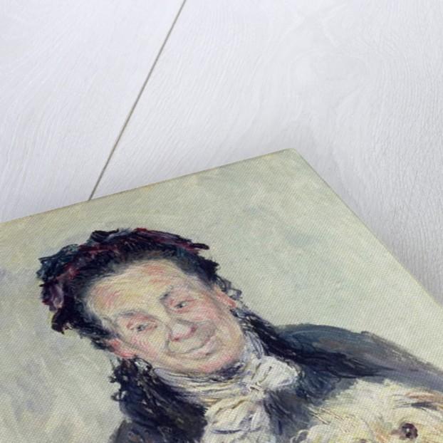 Portrait of Eugenie Graff 1882 by Claude Monet