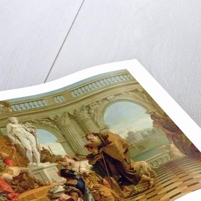 Maecenas Presenting the Liberal Arts to the Emperor Augustus c.1745 by Giovanni Battista Tiepolo
