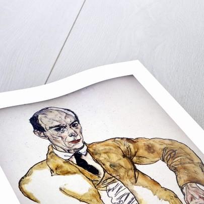 Arnold Schoenberg, 1917 by Egon Schiele
