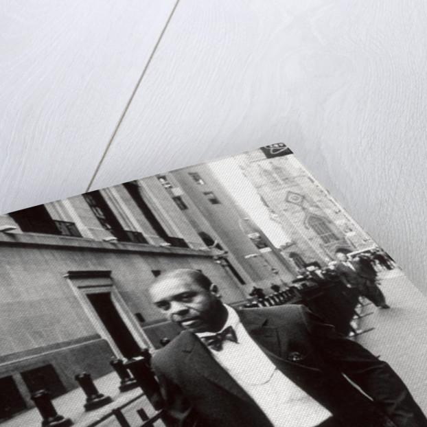 Wall St. Man, NY, 2006 by James Galloway