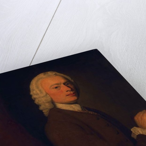 Unknown man, called Laurence Sterne by English School