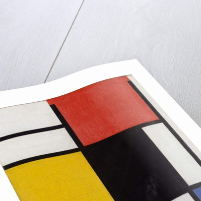 Composition with red, yellow, black, blue and grey, 1921 by Piet Mondrian