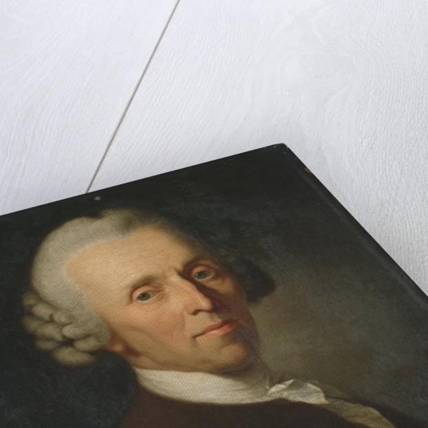 Portrait of German poet Christian Fuerchtegott Gellert, after 1769 by Anton Graff