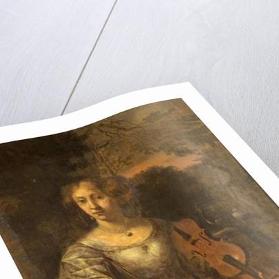 Lady with a Violin, c.1675 by Dutch School