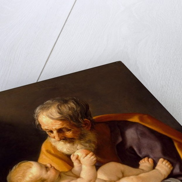 St. Joseph and the Christ Child, 1634-40 by Guido Reni