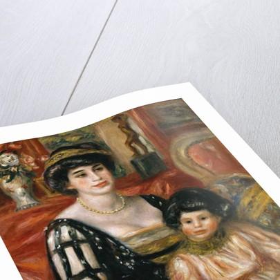 Madame Josse Bernheim-Jeune et son fils Henry by Pierre Auguste Renoir