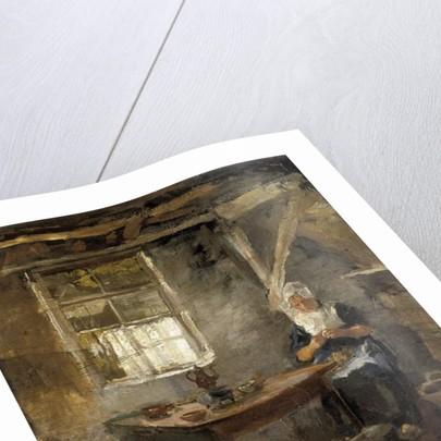Woman in a Dutch interior, 1899 by Piet Mondrian