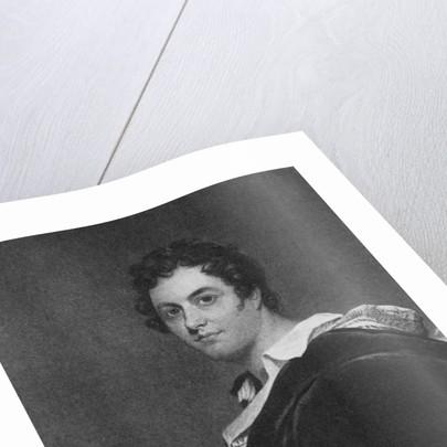 Portrait of George Gordon, 6th Lord Byron of Rochdale by English School