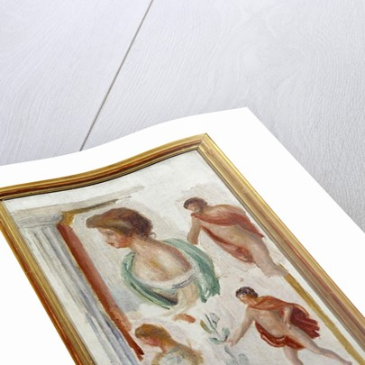 Characters of the Antique Tragedie Watercolour by Pierre Auguste Renoir 1895 by Pierre Auguste Renoir