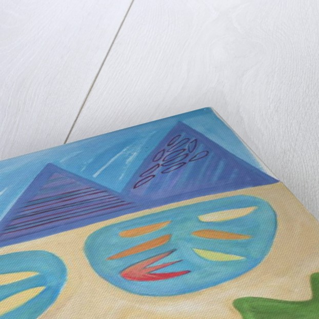 Landscape Within, 2015 by Janet McKenzie