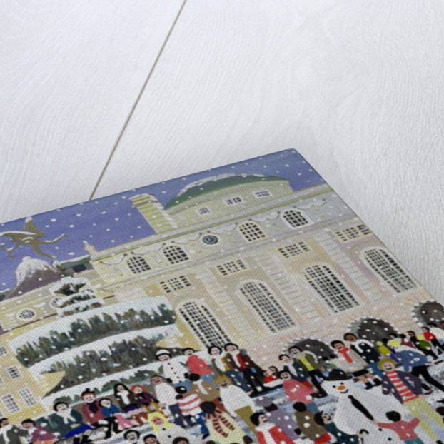 Piccadilly Snow Scene by Judy Joel