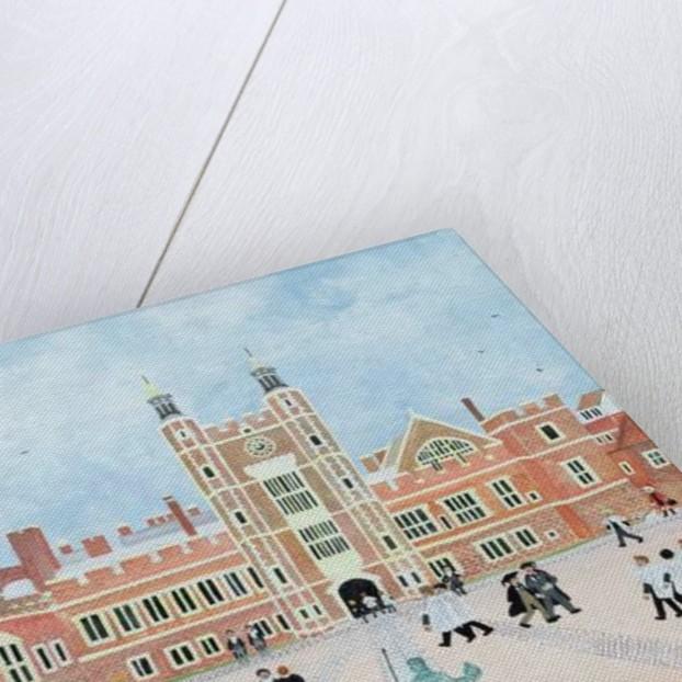 Eton College School Yard by Judy Joel