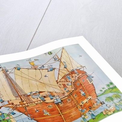 Pirate Ship by Christian Kaempf