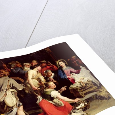 The Adoration of the Shepherds, after 1628 by Jan Cossiers