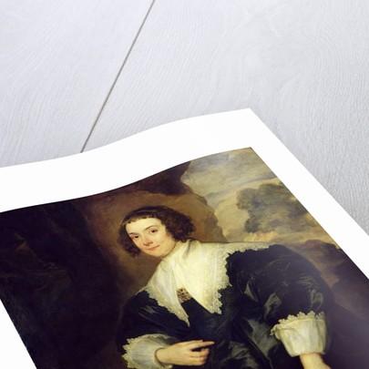 Portrait of Isabella van Assche, Wife of Justus van Meerstraten 1634-35 by Anthony van Dyck