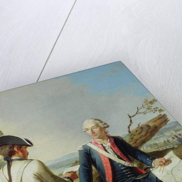 Marquis Louis d'Estampes at the Siege of Kassel, 1778 by Jean Jacques Francois Le Barbier