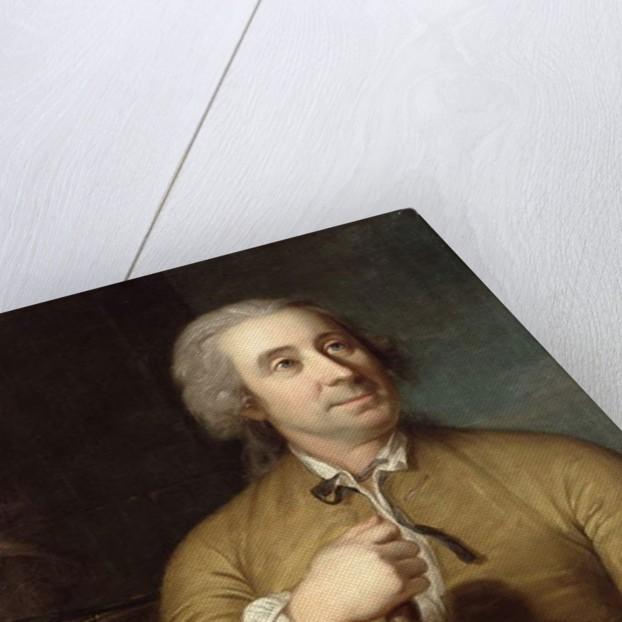 The Sculptor Johann August Nahl the Elder by Emanuel Handmann