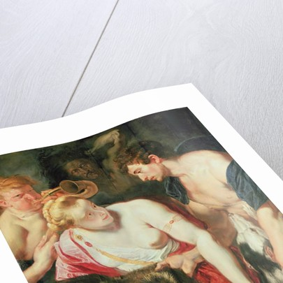 Meleager and Atalanta by Peter Paul (studio of) Rubens