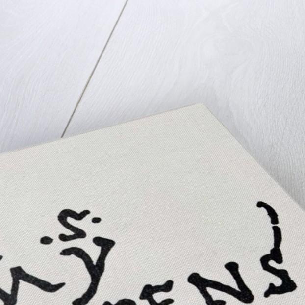 Signature and Monogram of Christopher Columbus by Spanish School