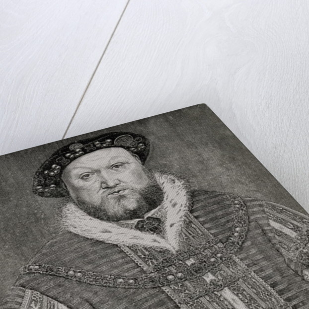 Henry VIII by Hans Holbein The Younger