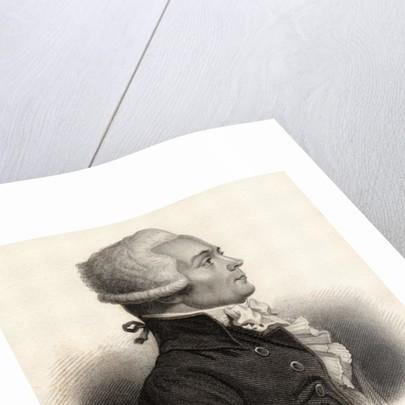 Portrait of Maximilien de Robespierre by English School